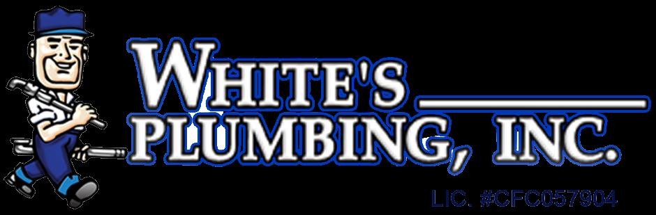 Whites Plumbing Logo